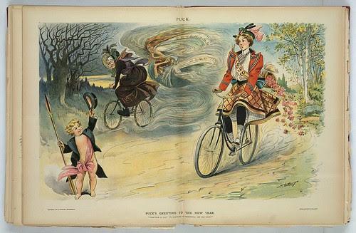 Puck Magazine - New Year's 1898