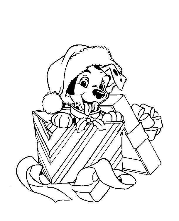 Personajes Disney Navidad Para Colorear Regalos Populares De Navidad