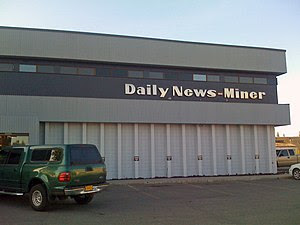 The offices of the Fairbanks Daily News-Miner ...