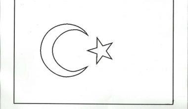 Bayrak Boyama Sayfaları Resimleri Sınıf öğretmenleri Için