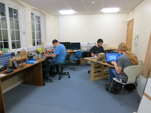 The space is ours! | York Hackspace
