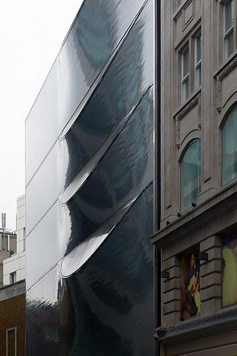 Londres, 10 Hills Place. Amanda Levete