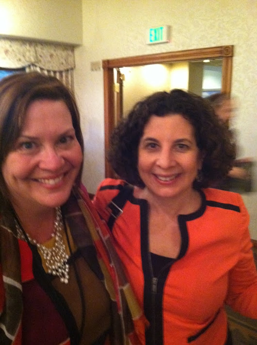 Image: Julie Morgenstern and Marla Stone at Napo. Marla spoke on Feng ...