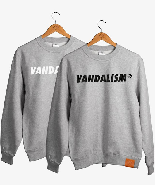 Vandalism Bold Sweater - Manufaktur13