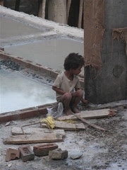 Boy at Construction Site - Delhi