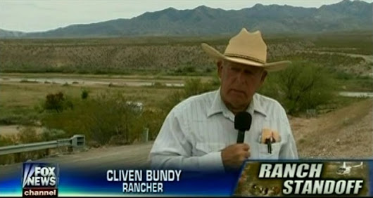 Right-Wing Media Are Throwing Gas On A Rancher's Violent Threats Against The Government