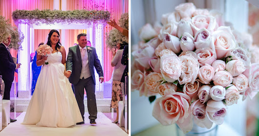 A romantic Jewish wedding bringing the outside inside, at The Grove, Hertfordshire, UK - Smashing the Glass | Jewish Wedding Blog