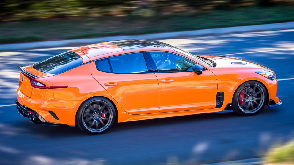 Here Are Some Modification Ideas For Your Kia Stinger Gt