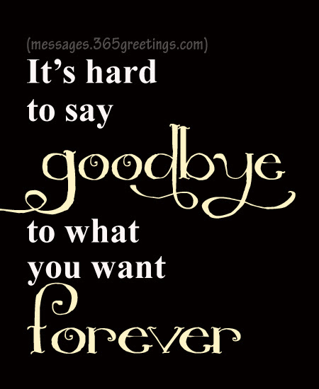 Get Here Too Hard To Say Goodbye Quotes
