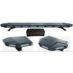 "Black Hawk 49"" Amber 88 LED Emergency Warning Beacon Roof Top Strobe Light Bar"