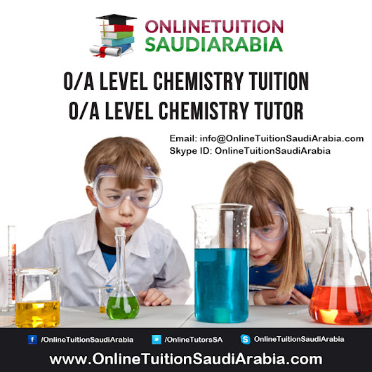 A Level Chemistry Tuition - A Level Chemistry Tutor
