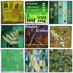 Challenge #6: Green,  mosaic #1