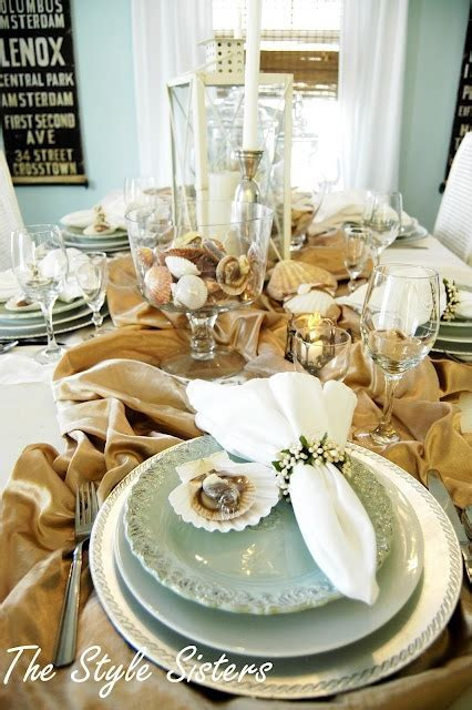 8 best images about Coastal Tablescapes on Pinterest   Sea