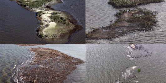 5 years ago, this island was the size of 4 football fields — now a devastating disaster has completely washed it away