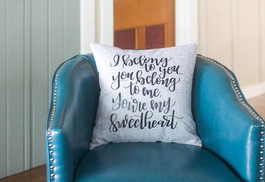 I Belong to You Pillow - Refashionably Late