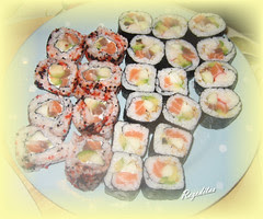 SUSHI: CALIFORNIA ROLL Y MAKI