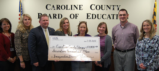 Caroline County Public Schools Staff Raise $17,000 for Imagination Library  : The Caroline Circle – Caroline County and the Mid Shore News