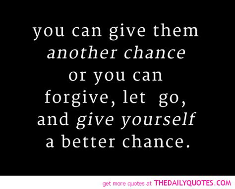 Giving A Chance Love Quotes