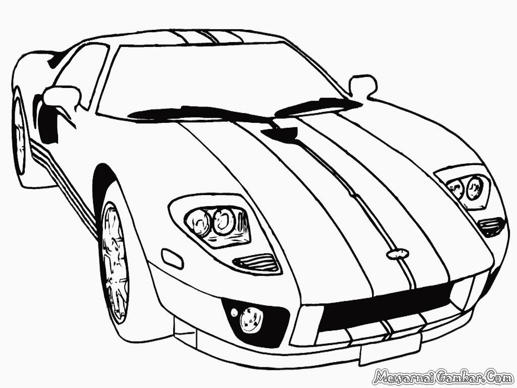 Gambar Mobil Untuk Belajar Mewarnai Auto Electrical Wiring Diagram