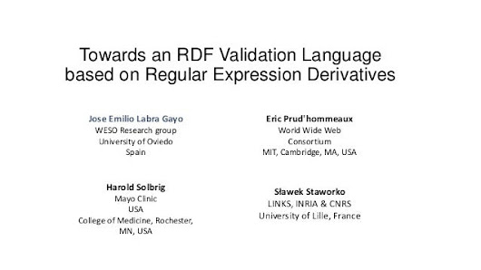 Towards an RDF Validation Language based on Regular Expression Deriva…