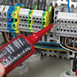 DMD Electrical Plymouth based Electrician - heating controls, control panels, fault finding, energy saving electrical installations full - part, fire alarms, burglar alarms, door access, electric gate access, testing an inspection, boiler rooms,mains changes, maintenance, shop refits