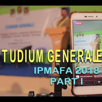 Studium Generale IPMAFA 2018 (PART I)