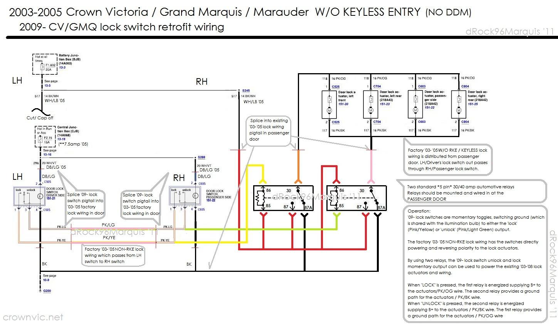 Ford Power Mirror Switch Wiring Diagram