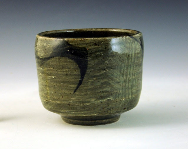celadon tea bowl stoneware