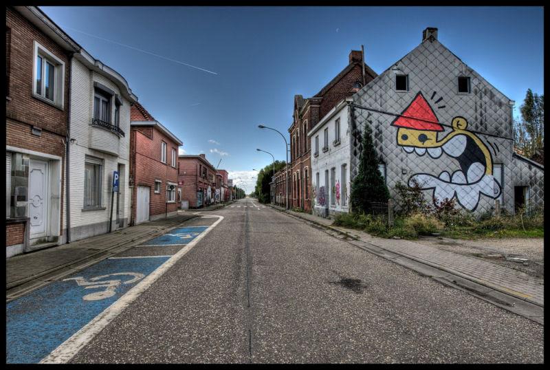 A vila condenada de Doel e sua arte de rua surpreendente 21