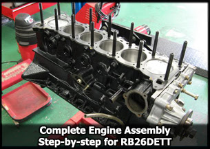 Nissan RB26 Engine Assembly Guide