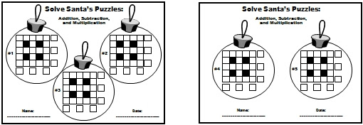 Winter Math Teaching Resources And Lesson Plans For Christmas