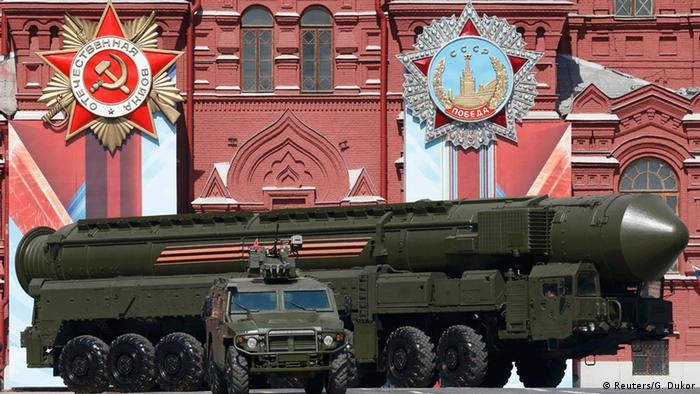 Russland Militärparade zum Tag des Sieges