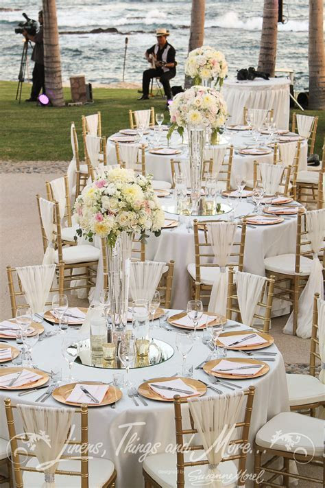 Chic Romantic Blush & Gold Wedding Décor at the Fiesta