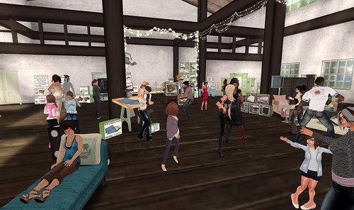 Second Spaces party
