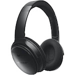 Bose QuietComfort 35 Bluetooth Wireless Over-Ear Headphones with Mic and NFC - Noise-Canceling - Black