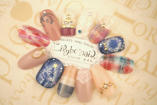 Lilybe nail(リリーベネイル)Art collection — 【Lilybe nail (リリーべネイル) ~winter collection...