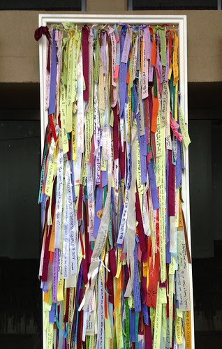 Ribbons of Hope exhibit at JC Artists' Studio Tour