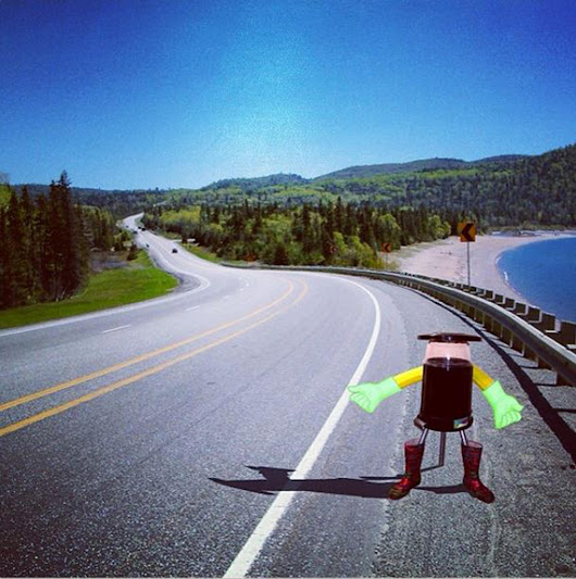 Thumbs Up! HitchBOT the Robot Plans to Hitchhike Across Canada