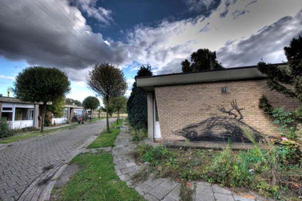Doel: Το εγκαταλελειμμένο χωριό που παραδόθηκε στην τέχνη του δρόμου (19)