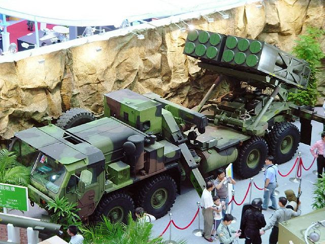 Ray Ting 2000 RT2000 multiple rocket launcher system technical data sheet specifications description information intelligence pictures photos images Taiwan Taiwanese army