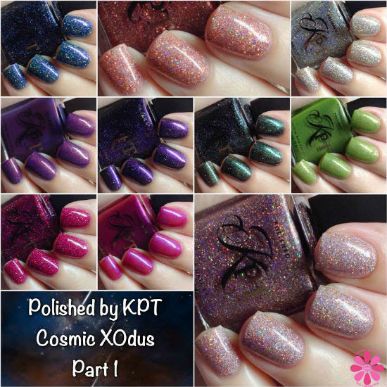 Polished by KPT Cosmic XOdus Part 1 Collection Swatches & Review