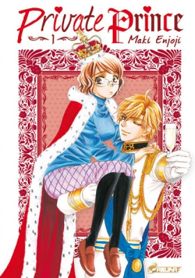 Couverture Private Prince, tome 1