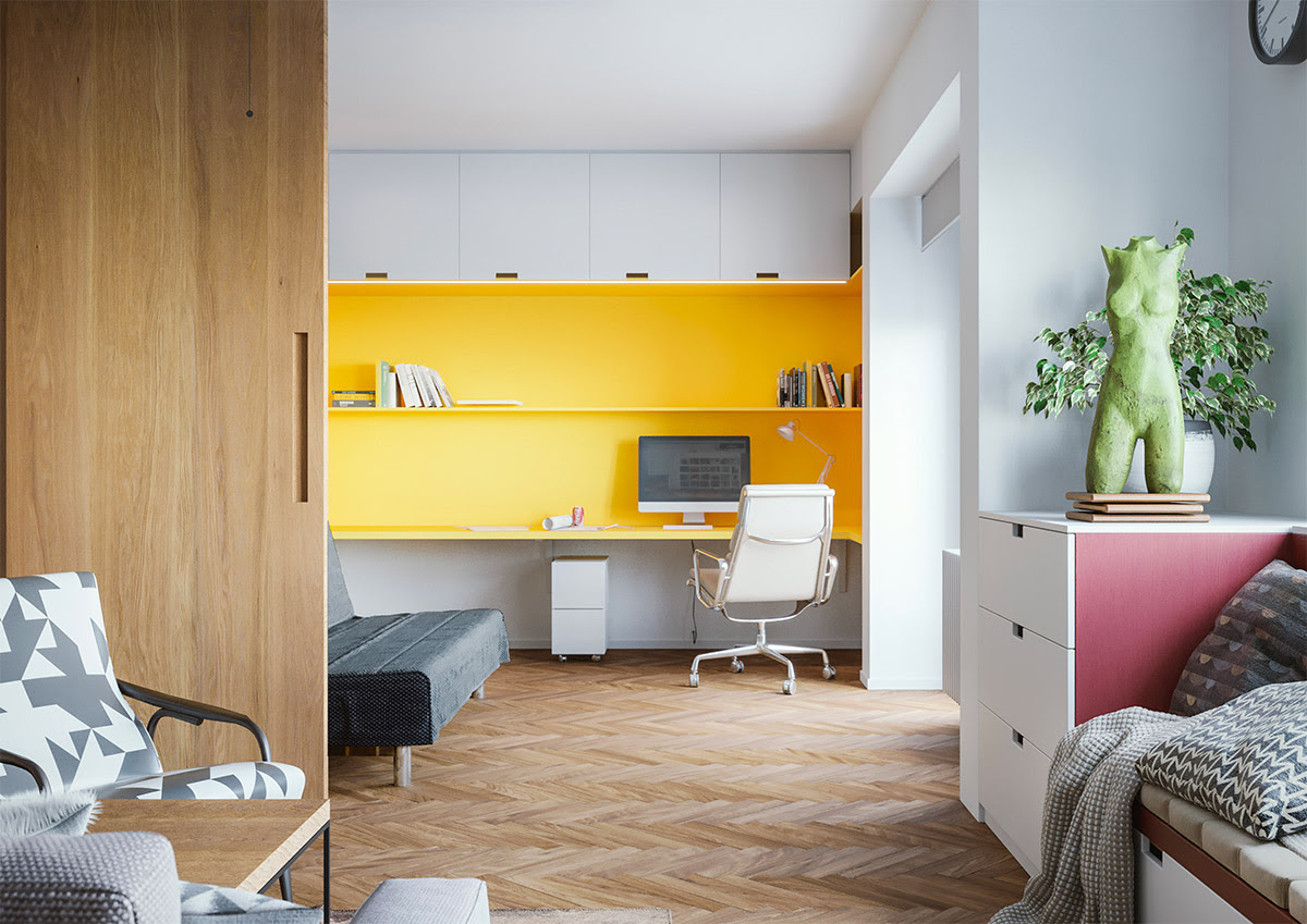 24 Home Workspace Designs With Ideas, Tips And Accessories To Help