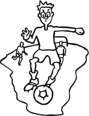 Disegno Di Il Calcio Da Colorare Disegni Da Colorare E Stampare Gratis
