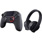 Nacon 311608 Pro v3 Controller & Sony PlayStation CUHYA-0080 Headset Bundle