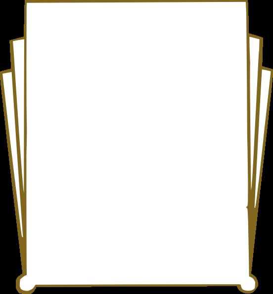 Art Deco Clip Art Border Canvatemplete