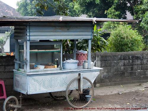 Bali 2010 - Eten onderweg