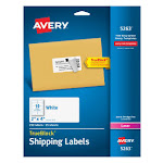 """Avery Address labels, 2"""" x 4"""" - 25 count"""