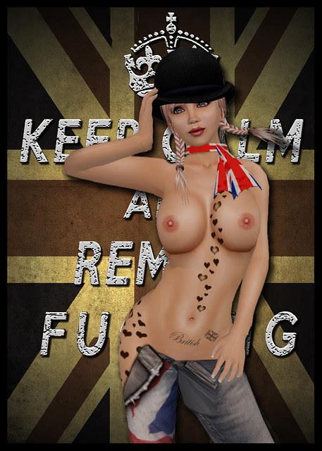 Keep Calm and Remain English
