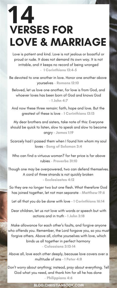 14 Bible Verses About Love & Marriage   Words To Live By